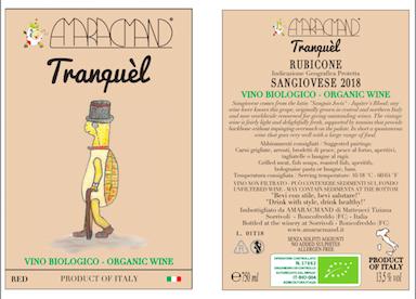 Amaracmand Tranquel label