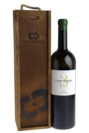 Sunny-Tables- Spanje-Utiel-Requena-Las-Tres-blanco-Magnum-Chozas-Carrascal-met-houten-kist-cadeau