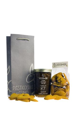 Panettone, Asinello No.7 met gezouten caramel-chocolade